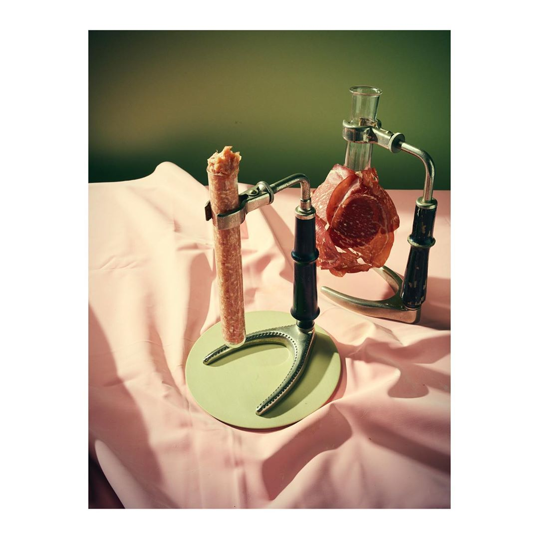 About science ....#editorial #concept #food #foodstyling #mood #look #film #photography #meat #beef #science #laboratory #setdesign #set #styling #print #planw #commission #foodphoto #stilllifefood #color