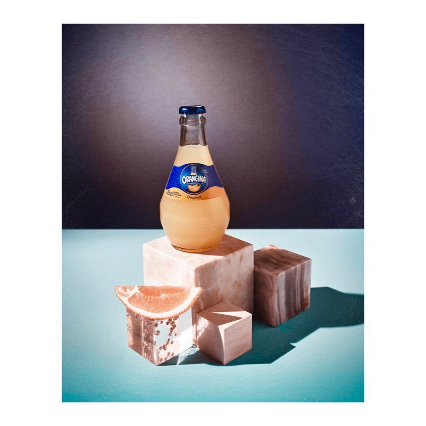 For @orangina_de #thankyou @sister_mag ..#photography #set #concept #byme #largeformat @linhof_munich @phaseonephoto#socialmedia #campaign #drink #beverage #food #stilllife #stilllifephotography #set #setdesign #color #softdrink #modern #direction #creative